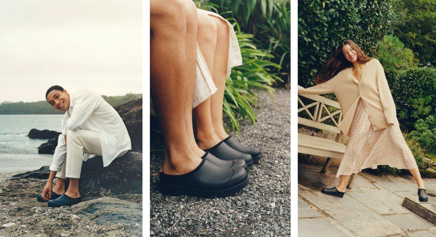 Hunter nuova scarpa slip on PLAY Clog Primavera-Estate 2021