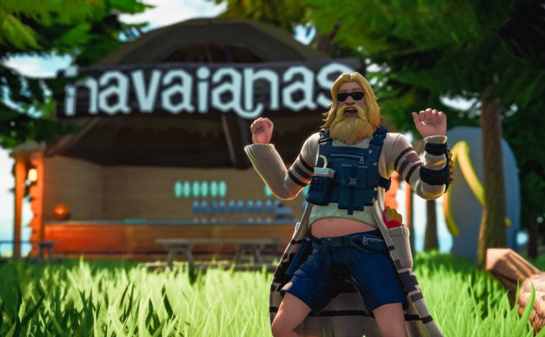 Havaianas e il famoso videogioco Fortnite presentano Havaianas Summer Island