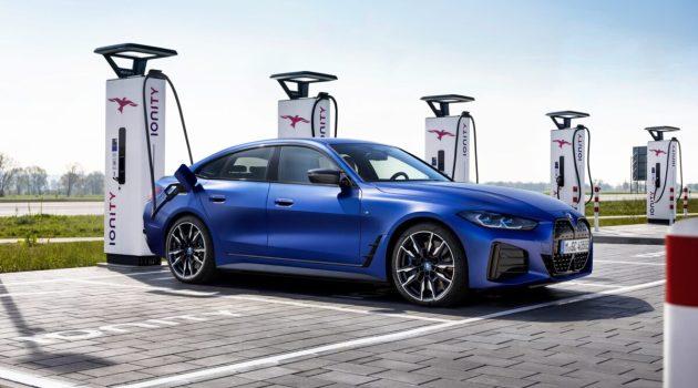 BMW i4 elettrica MY 2022-