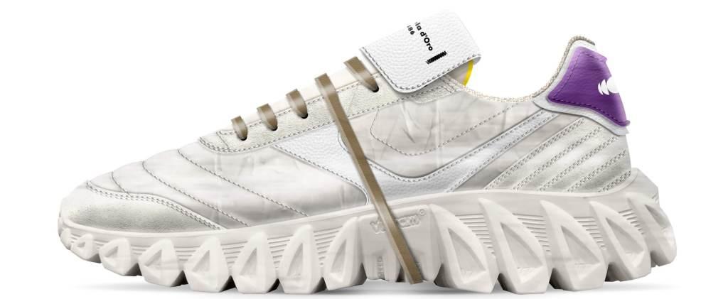 Snaeker Uomo SNEAKERBALL Pantofola D'Oro primavera-Estate 2022-