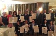 Diploma e tastevin per i sommelier Fisar formati a Velletri