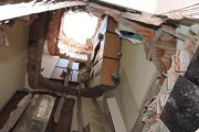 Crollo palazzina a Frascati per cedimento strutturale: un ferito