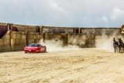 Ferrari contro biga a Cinecittà World
