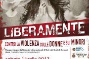 """A Nemi arriva """"Liberamente"""" campagna di sensibilizzazione contro la violenza sulle donne e sui minori"""