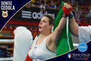 La genzanese Denise Cedola sul tetto d'Europa nella Kick Boxing
