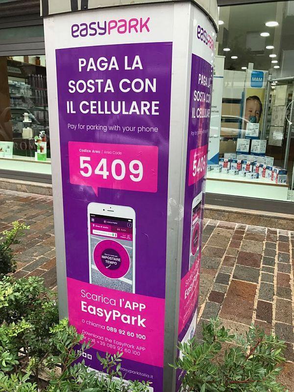 Attivata anche a Frascati EasyPark