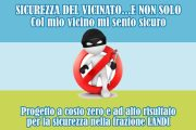 GENZANO, EVENTO SICUREZZA LANDI