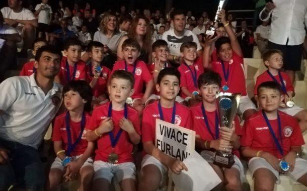 Grottaferrata, la scuola calcio Vivace Furlani 1922 per il 3° anno all'Euro Cup di Tortoreto