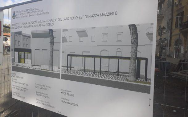 Il manufatto di Piazza Mazzini verso la riqualificazione