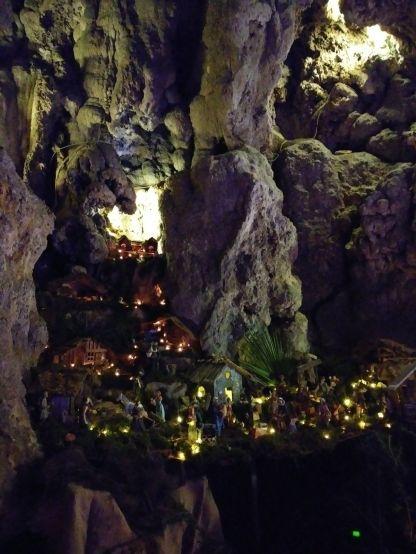 Grotte di Rescia Natale in Grotta Lago di Lugano 8