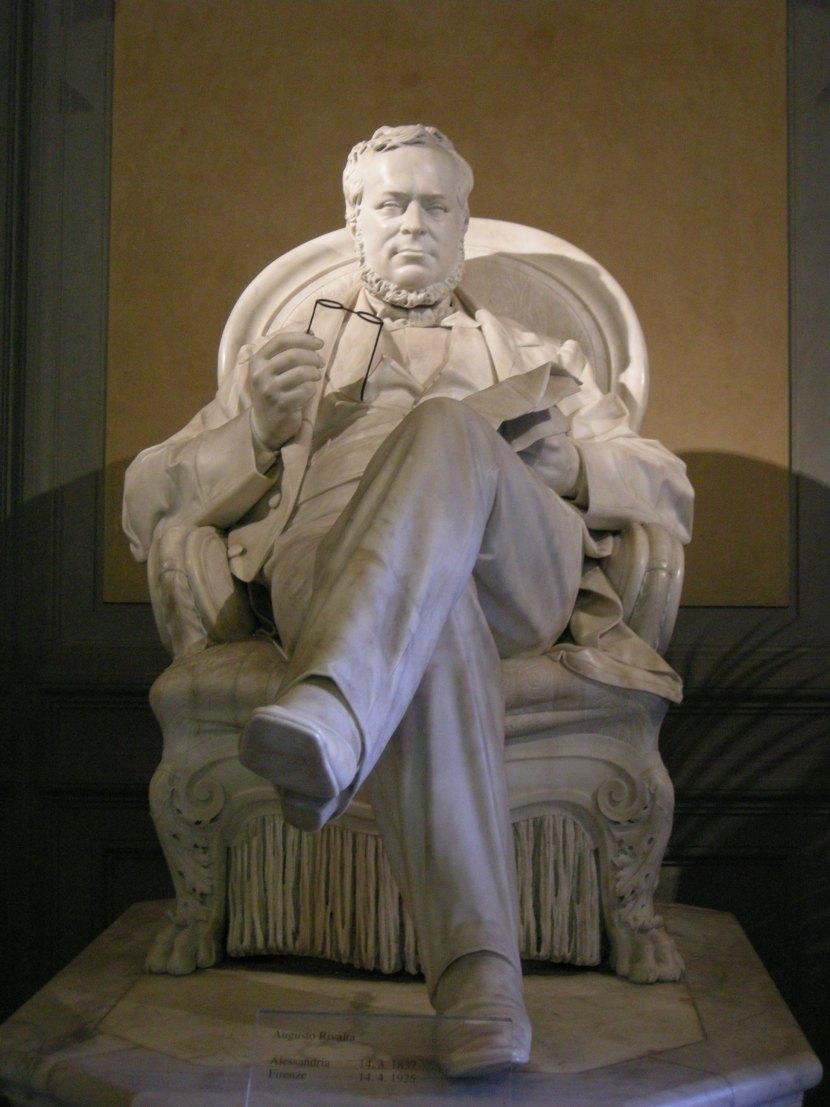Augusto_rivalta,_statua_di_cavour,_1870_02