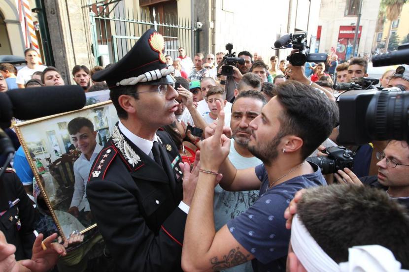 Napoli, corteo di protesta per Davide Bifolco