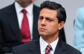 Il presidente del Messico Enrique Nieto, esponente del Partido Revolucionario Istitucional