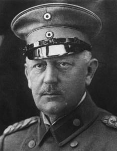 Una foto del generale tedesco von Moltke