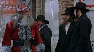 Una scena di 'Santa's Slay'