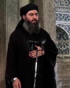 Abu Bakr al-Baghdadi, autoproclamatosi califfo dello Stato Islamico