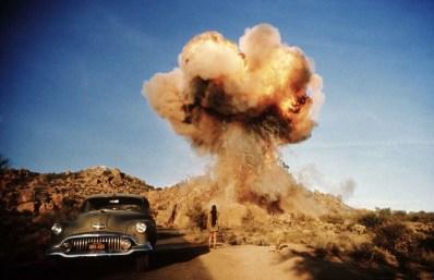 """Una scena del film """"Zabriskie Point"""" del 1970."""