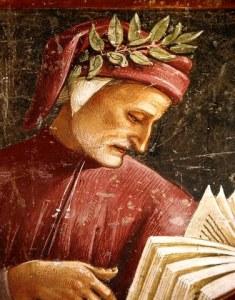 Un dipinto di Dante Alighieri