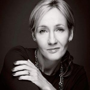 J.K. Rowling, autrice e creatrice della saga di Harry Potter