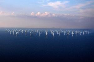 La distesa eolica di Lillgrund, al largo delle coste della Scania.
