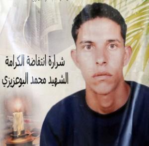 Mohamed Bouazizi, simbolo della Rivoluzione dei Gelsomini