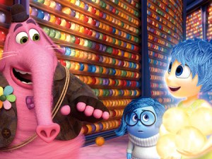 Una scena di 'Inside Out', diretto da Pete Docter