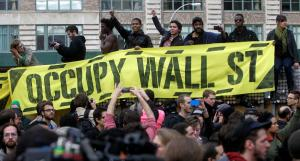 Le proteste del movimento Occupy Wall Street.