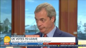 Nigel Farage, a Good Morning Britain, ammette che le 350 milioni di sterline non ci sono