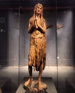 Donatello, Maddalena penitente, 1455-56, legno, Museo dell'Opera del Duomo, Firenze.