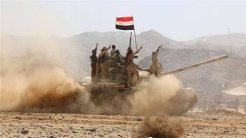 Soldati yemeniti durante la campagna militare del 2015