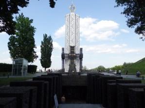 Kiev, monumento dedicato alle vittime del genocidio del popolo ucraino