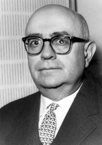 Theodor W. Adorno im Studio Foto: Hessischer Rundfunk