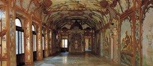 """La celebre """"Sala dei fiumi"""" di Palazzo Ducale, corte di Mantova."""