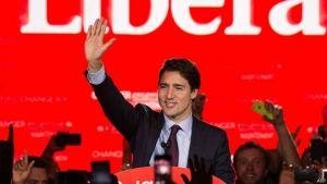Justin Trudeau vince le elezioni politiche del 2015 in Canada diventando così il nuovo primo ministro.