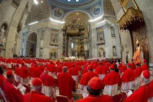 Foto LaPresse22/02/2014 RomaAttualitàConcistoro: il Papa crea 19 nuovi cardinali