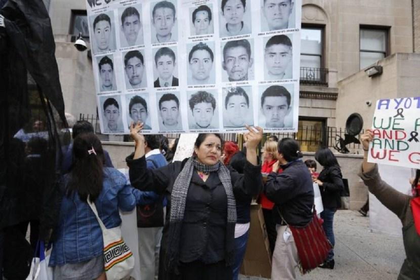 protestors mexican consolate