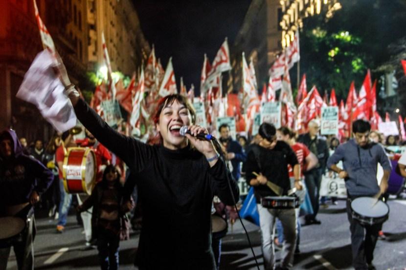 No al 2X1 Buenos Aires - Argentina. Foto: Milangela Galea