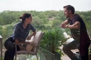 L'attore statunitense Ryan Gosling (1980) e l'attrice Rooney Mara (1985) in una scena del film