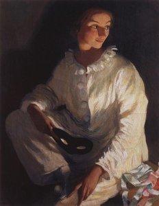 Autoritratto in costume da Perrò (1911)