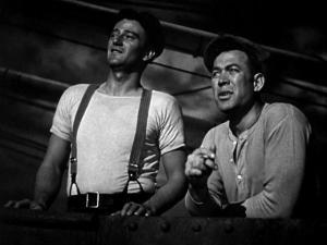 Una scena del film Il lungo viaggio di ritorno (1940)