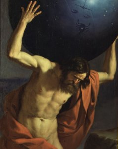 "Francesco Barbieri detto il Guercino, ""Atlante"", Firenze, (1646)"