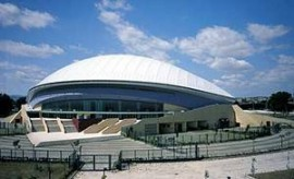 L'Adriatic Arena di Pesaro, costruita nel 1996