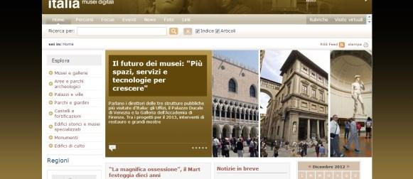 MuseiD-Italia, la cultura è a portata di click