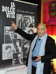 Carlo Riccardi  e la Dolce Vita
