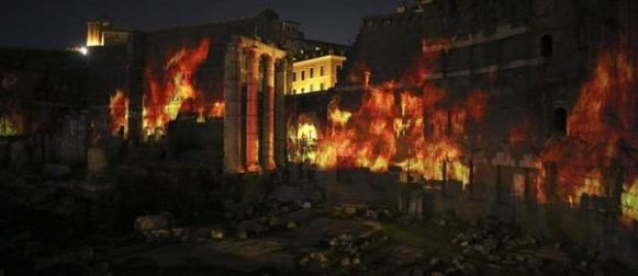 La gloria di Augusto rivive con uno spettacolo multimediale a Roma