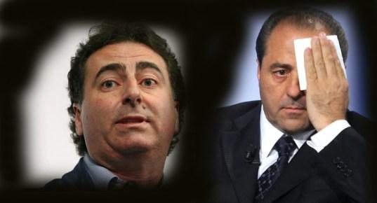 Antonio Di Pietro e Ignazio Messina