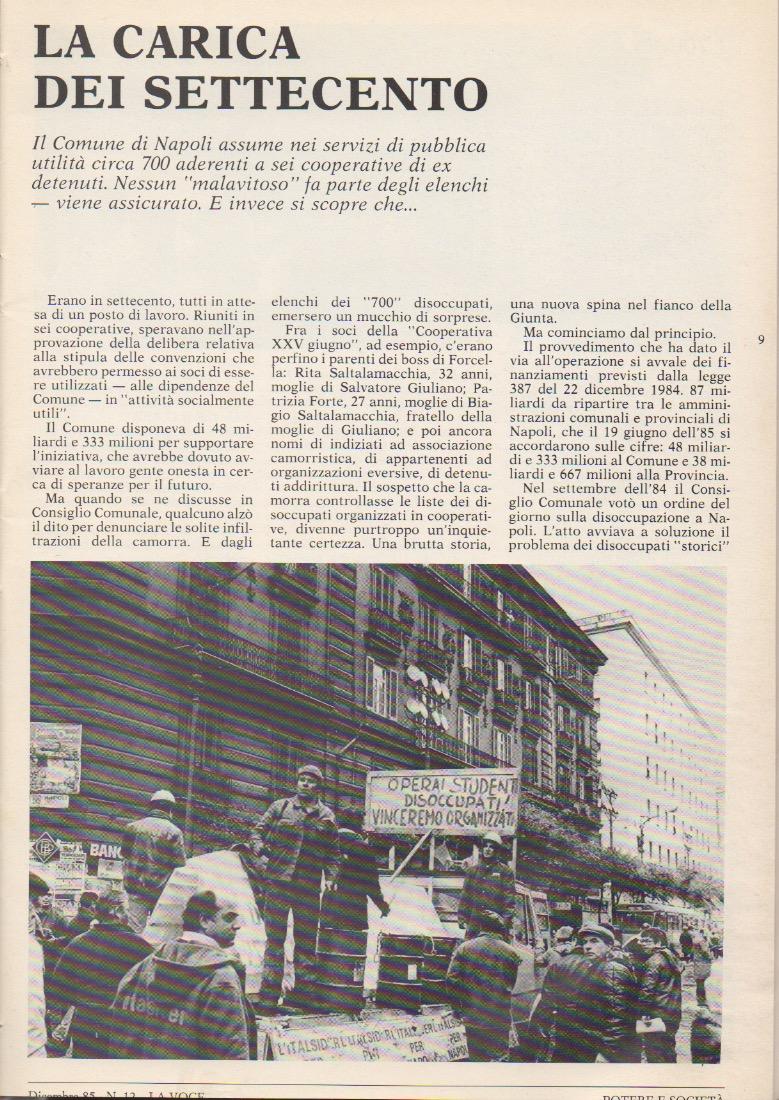 Voce dicembre 85