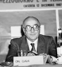 Antonio Gava al tempo in cui era ministro dell'Interno
