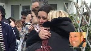 Lacrime per l'omicidio di Roberto Burnelli