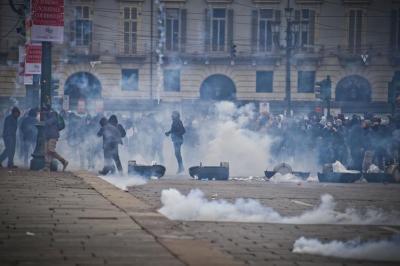 Protesta dei Forconi a Torino